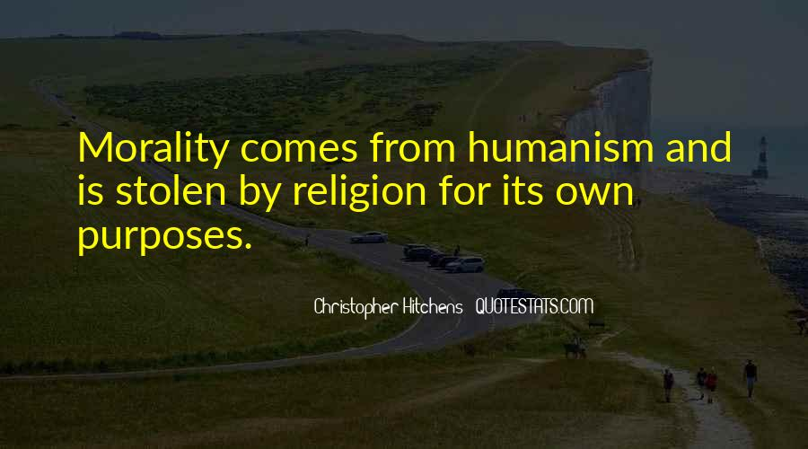 Quotes About Humanism #294819