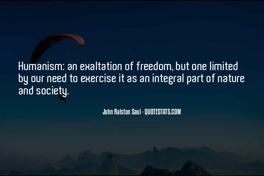 Quotes About Humanism #534112