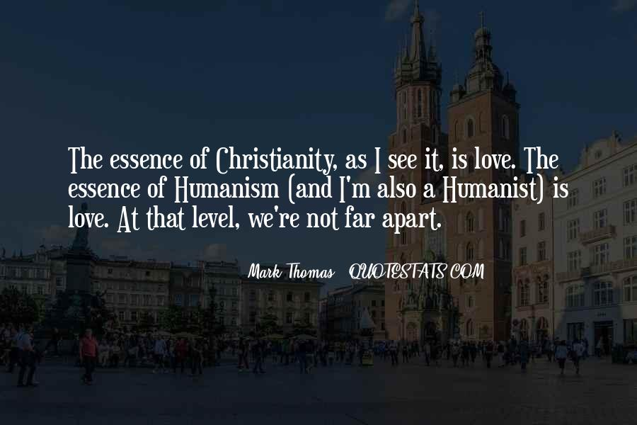 Quotes About Humanism #73922
