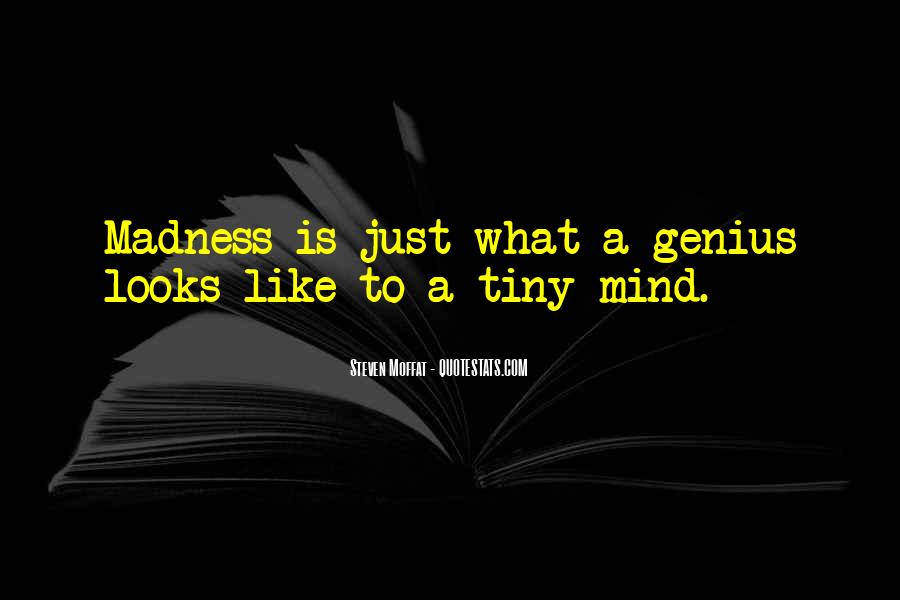 Quotes About Genius Mind #1111620