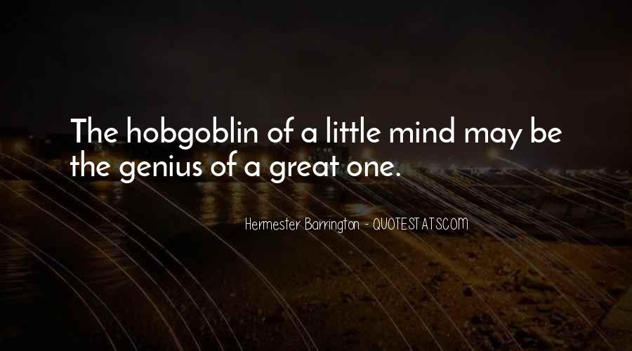 Quotes About Genius Mind #1154057
