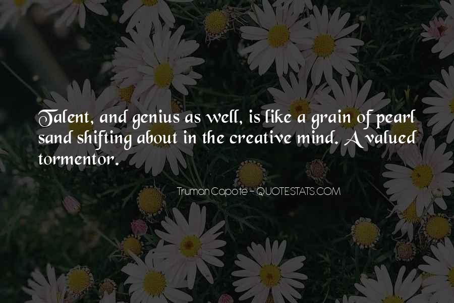 Quotes About Genius Mind #43335