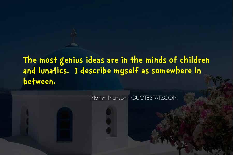 Quotes About Genius Mind #728892
