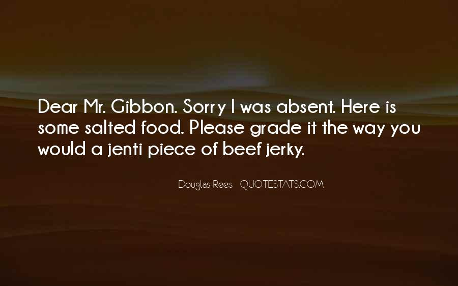 Quotes About Beef Jerky #936925
