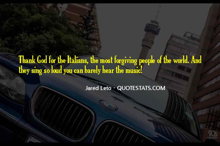 Quotes About Loud Music #1258025