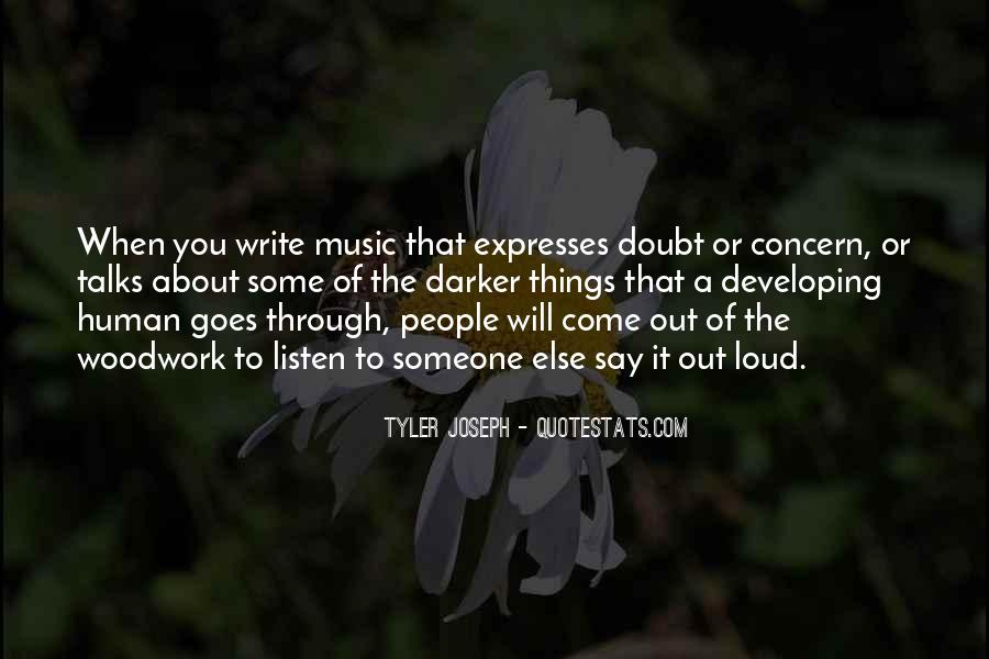 Quotes About Loud Music #1264956