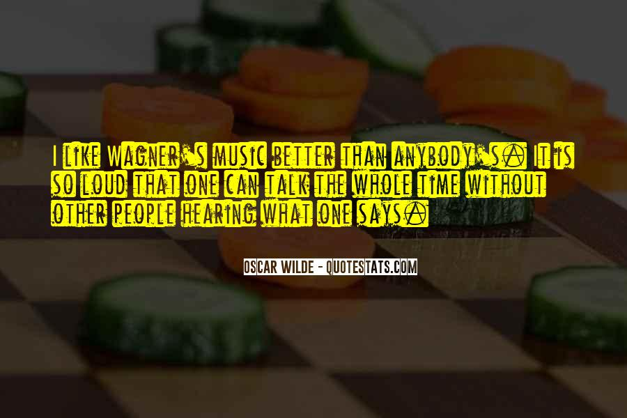 Quotes About Loud Music #1390169