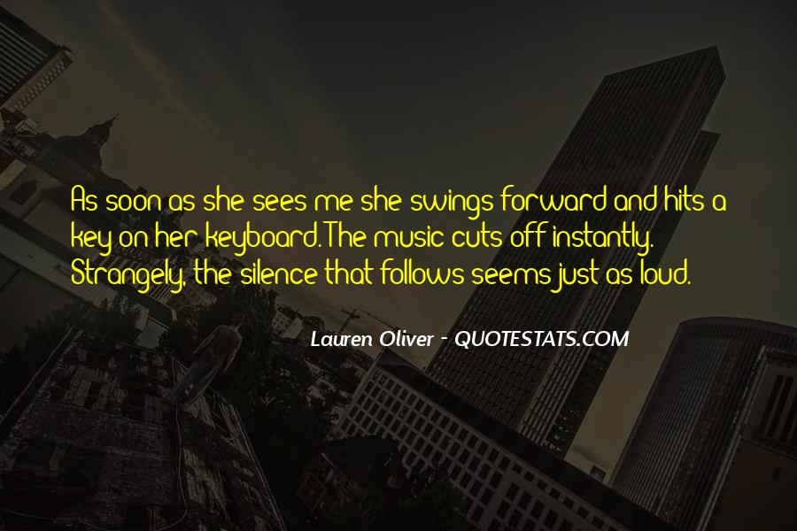 Quotes About Loud Music #1416553
