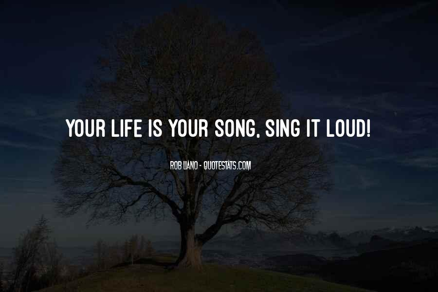 Quotes About Loud Music #283650