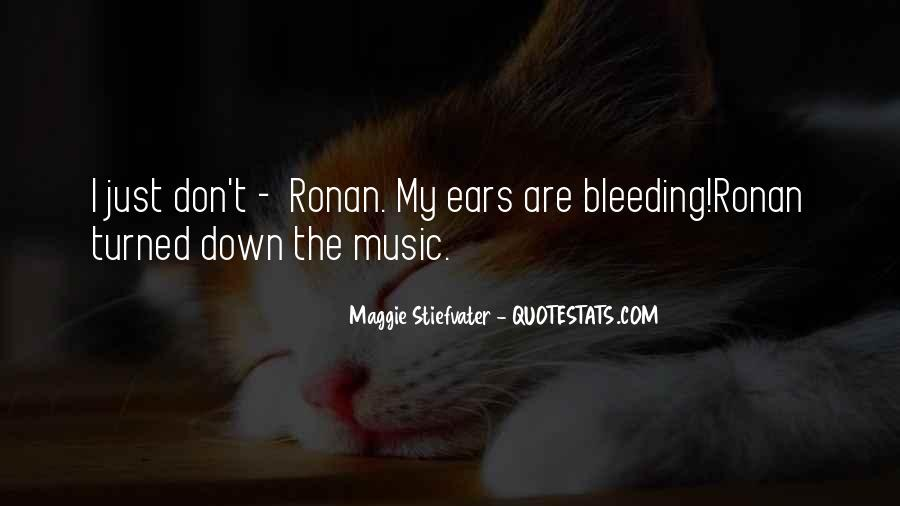 Quotes About Loud Music #618920