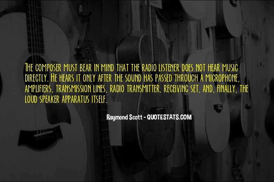 Quotes About Loud Music #979121