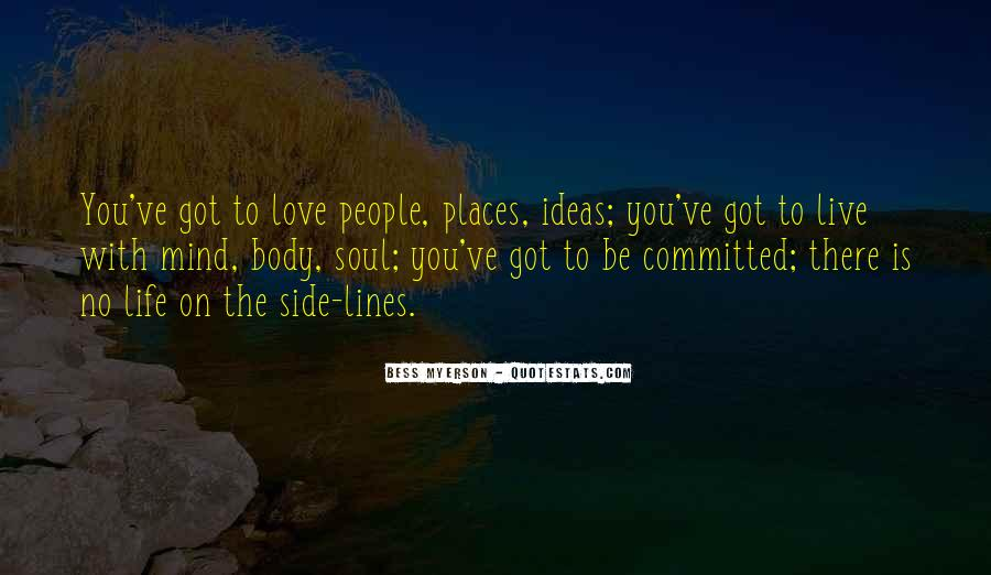 Quotes About Love The Life You Live #590672