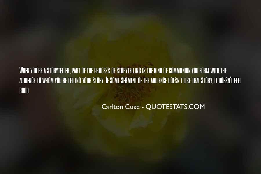 Quotes About Telling How You Feel #166581