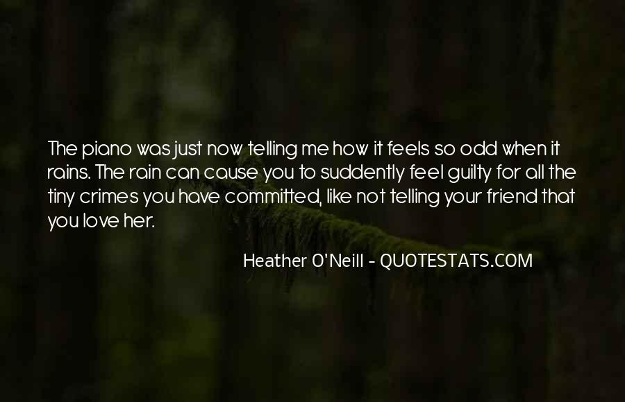 Quotes About Telling How You Feel #1696565