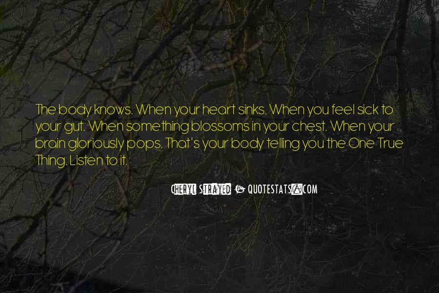 Quotes About Telling How You Feel #391330