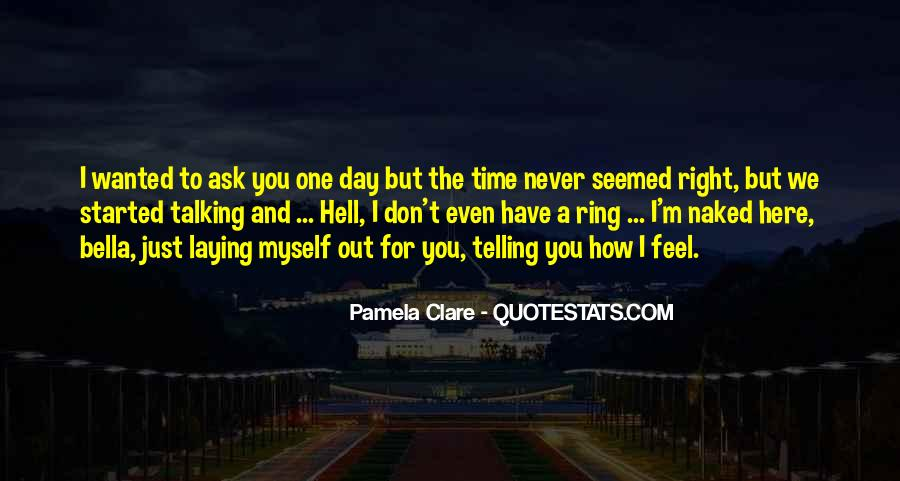 Quotes About Telling How You Feel #906000