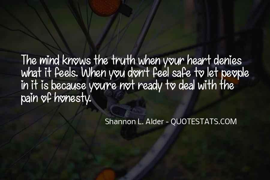 Quotes About Honesty In Love #1762213