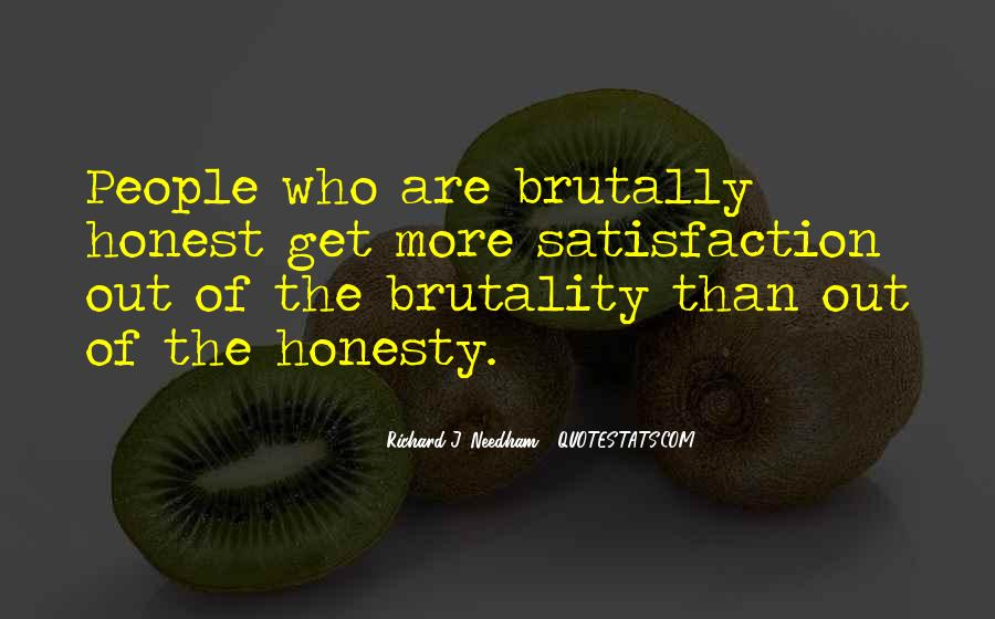 Quotes About Honesty In Love #62072