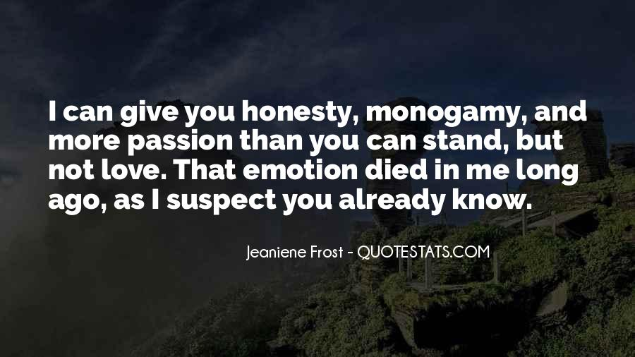 Quotes About Honesty In Love #9353