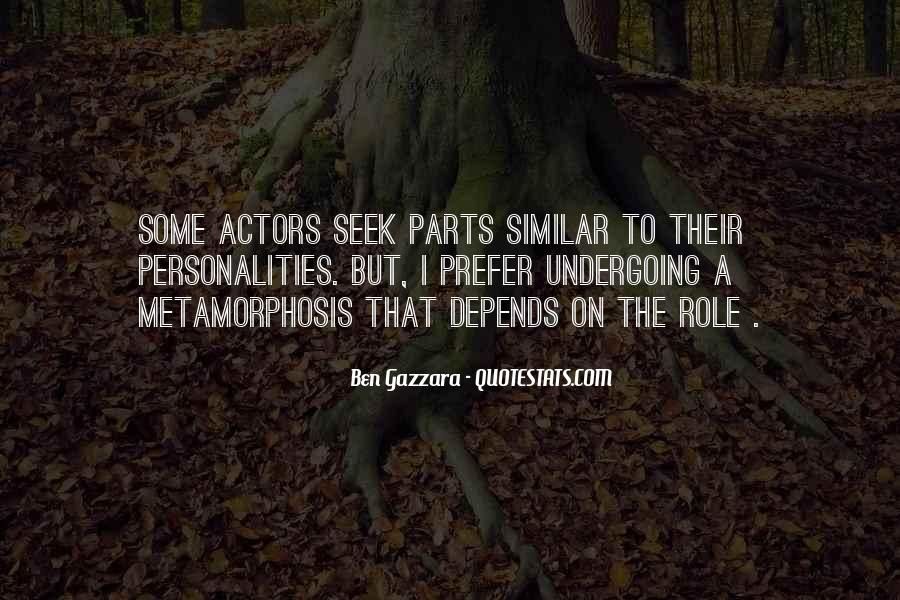 Quotes About Similar Personalities #1136401