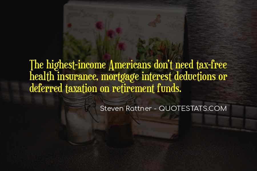 Quotes About Tax Deductions #1241741
