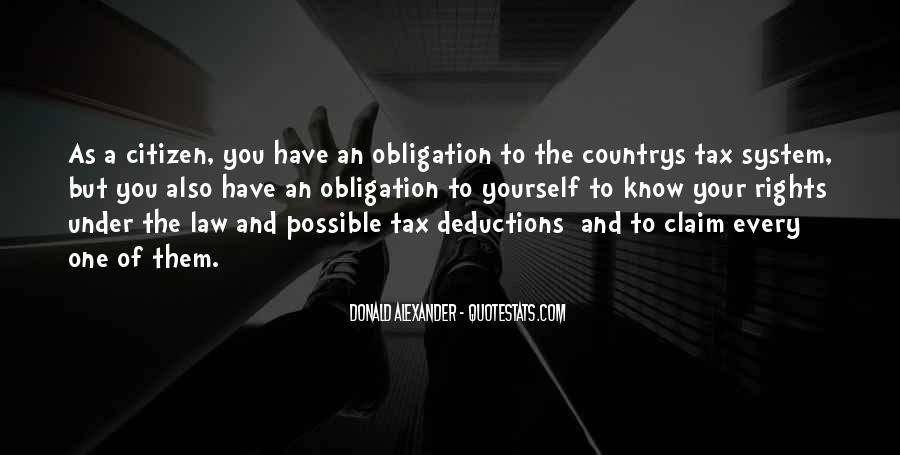 Quotes About Tax Deductions #1776914