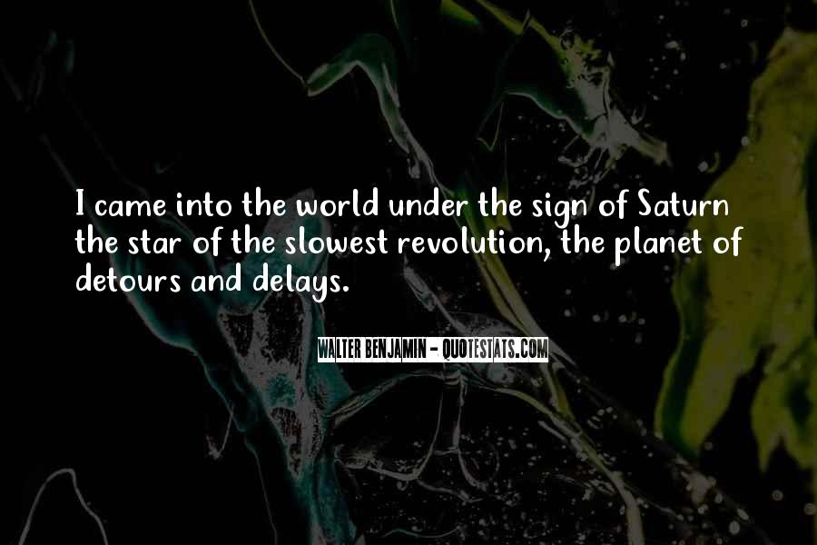Quotes About The Planet Saturn #28991