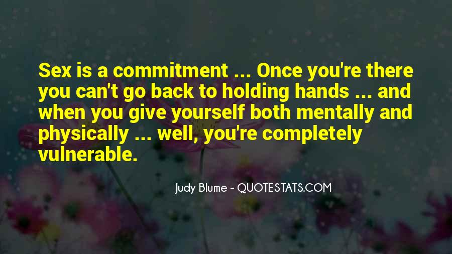 Quotes About Holding Back Love #187942