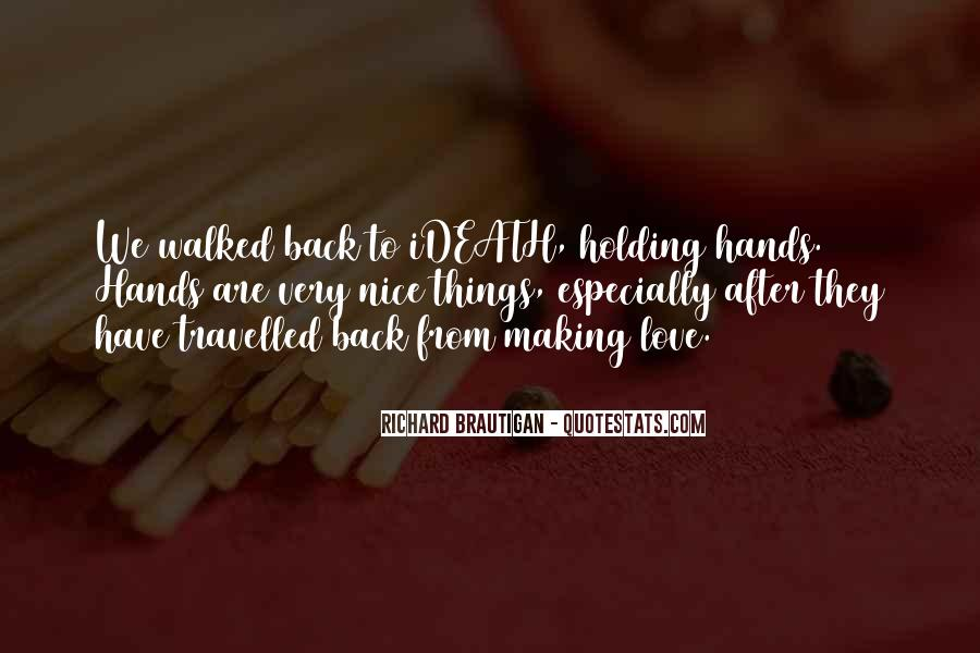 Quotes About Holding Back Love #876611