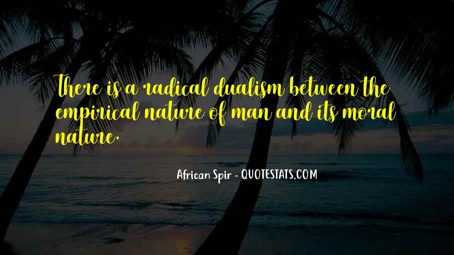 Quotes About Non Dualism #206327