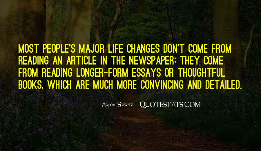 Quotes About Major Life Changes #1004722