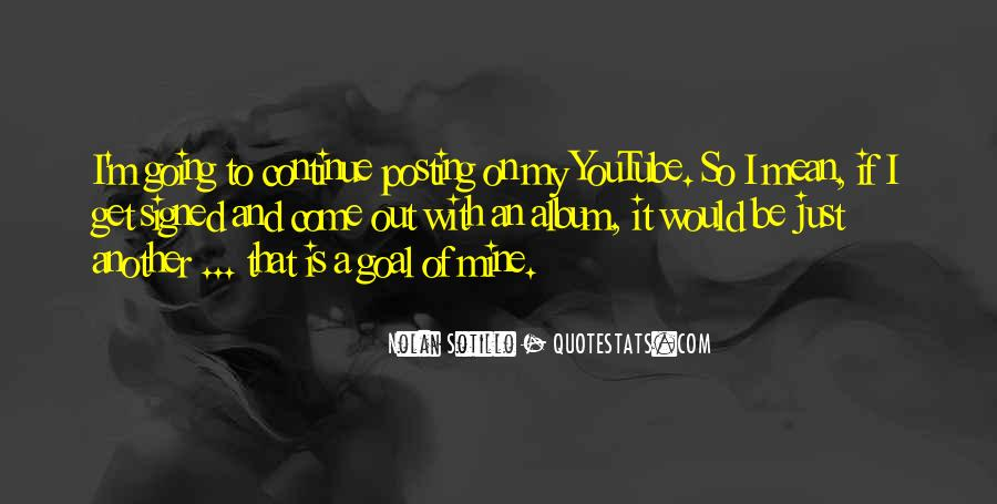 Quotes About Posting What I Want #431127