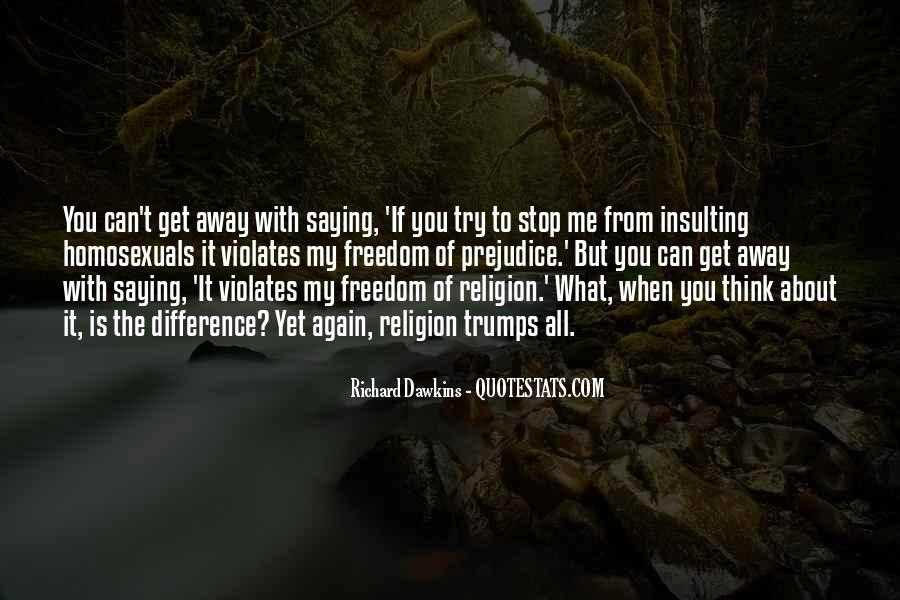 Quotes About Insulting Religion #550824