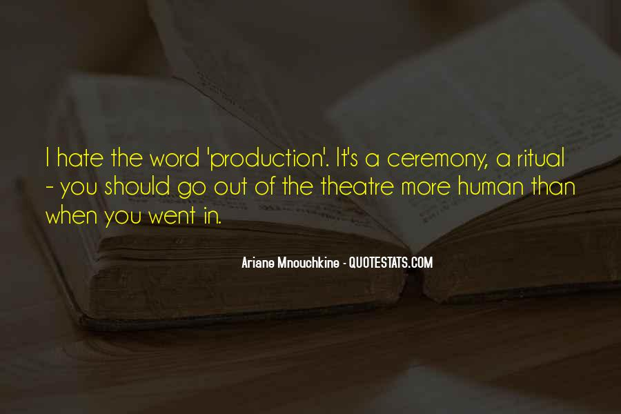 Quotes About Ceremony And Ritual #810450