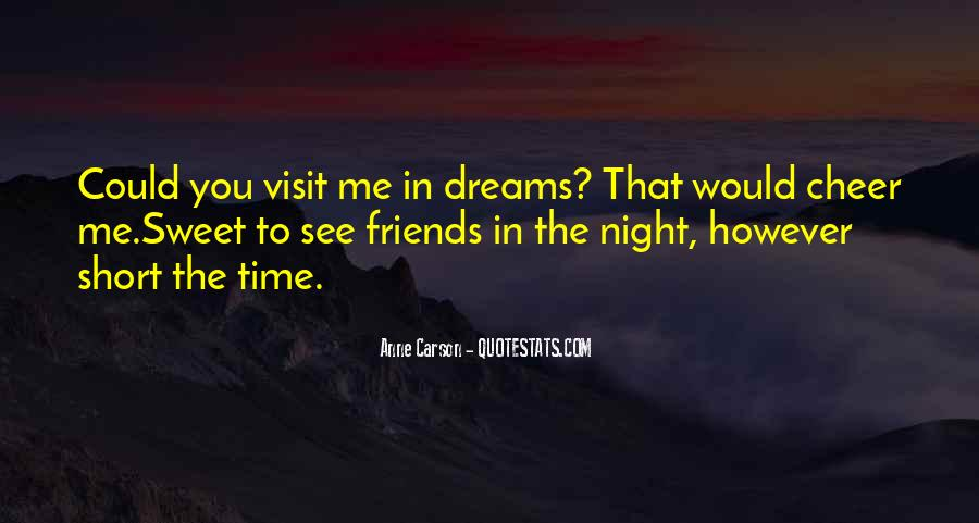 Quotes About Night Dreams #101280