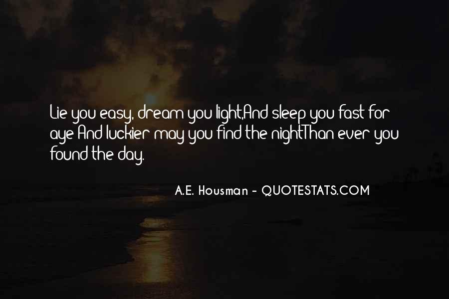 Quotes About Night Dreams #103407