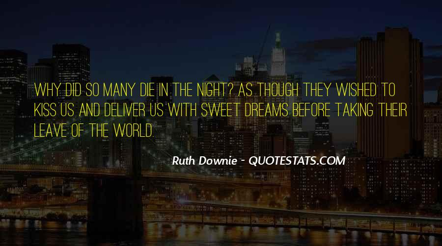 Quotes About Night Dreams #110968