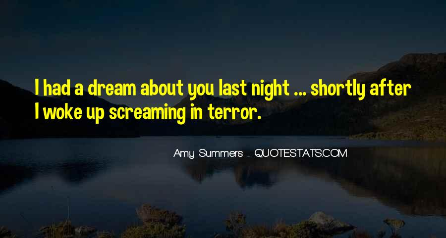 Quotes About Night Dreams #164610
