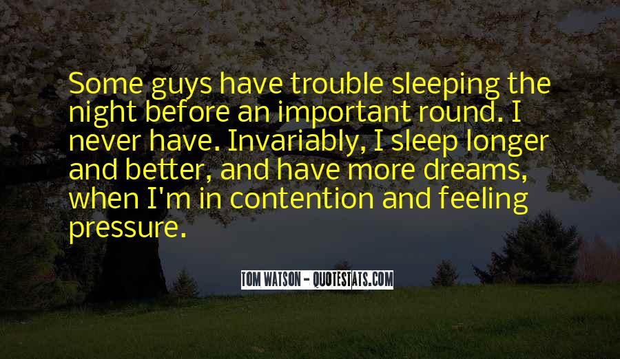 Quotes About Night Dreams #212172