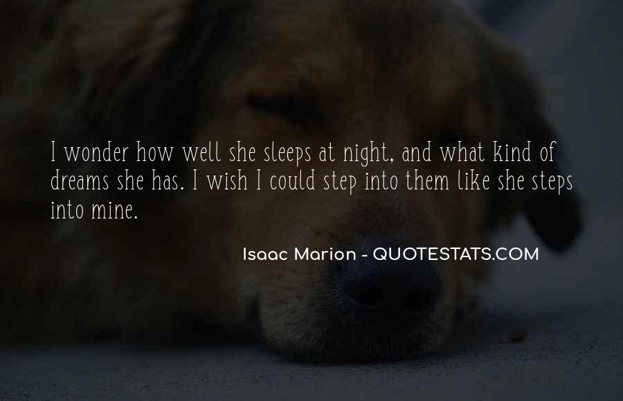 Quotes About Night Dreams #243345