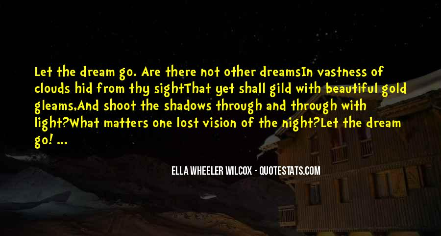Quotes About Night Dreams #251340