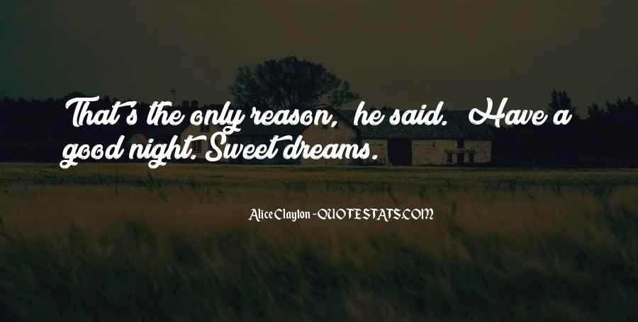 Quotes About Night Dreams #255205