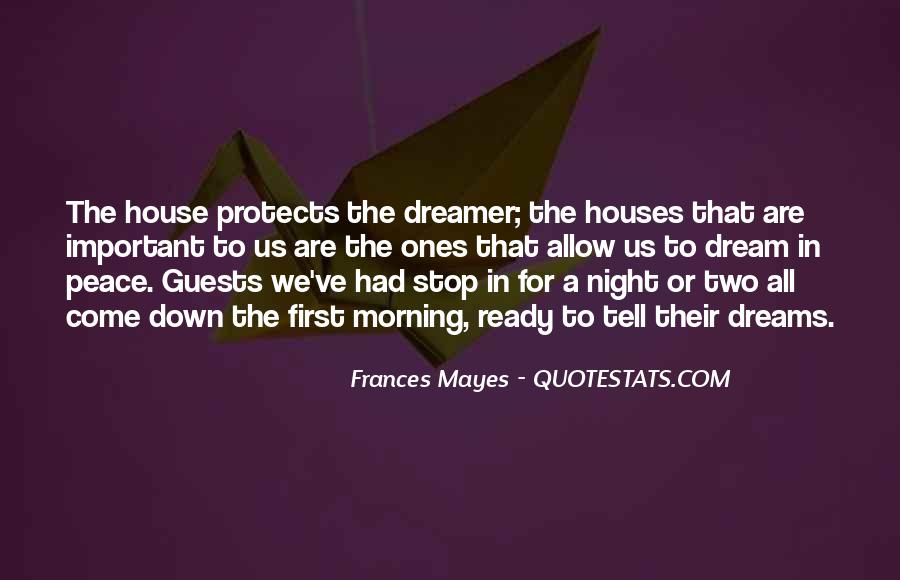 Quotes About Night Dreams #299633