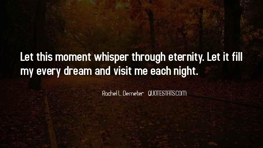 Quotes About Night Dreams #409917