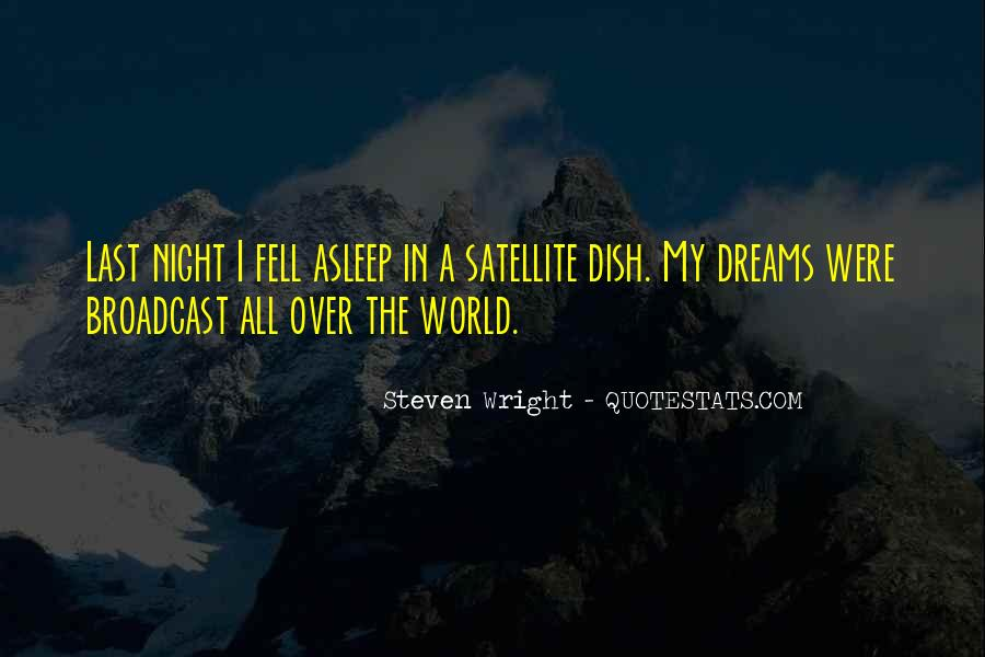 Quotes About Night Dreams #410182