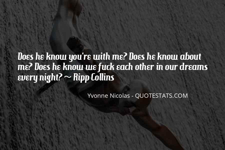 Quotes About Night Dreams #478047