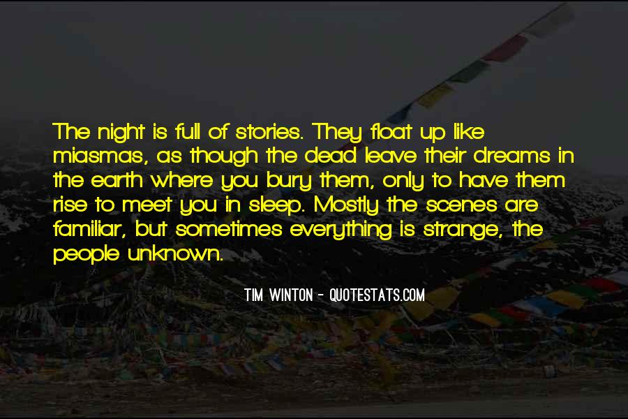 Quotes About Night Dreams #496576