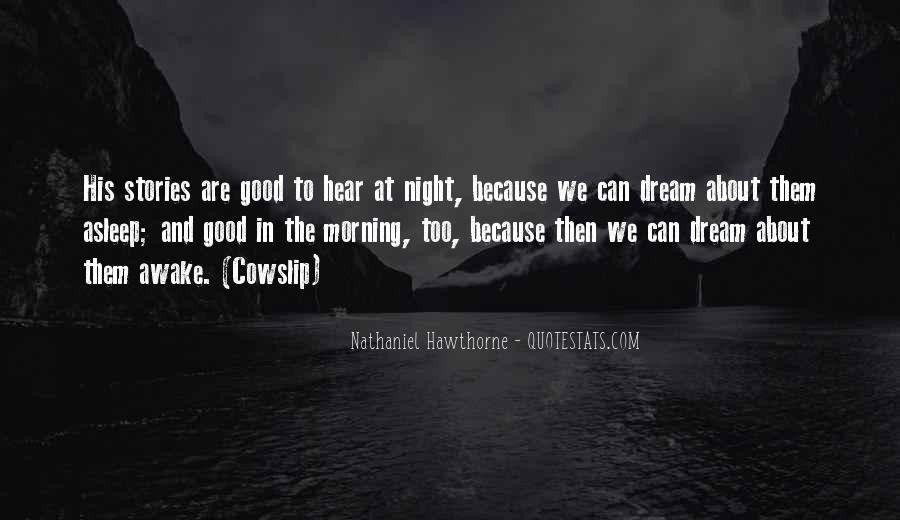 Quotes About Night Dreams #551089