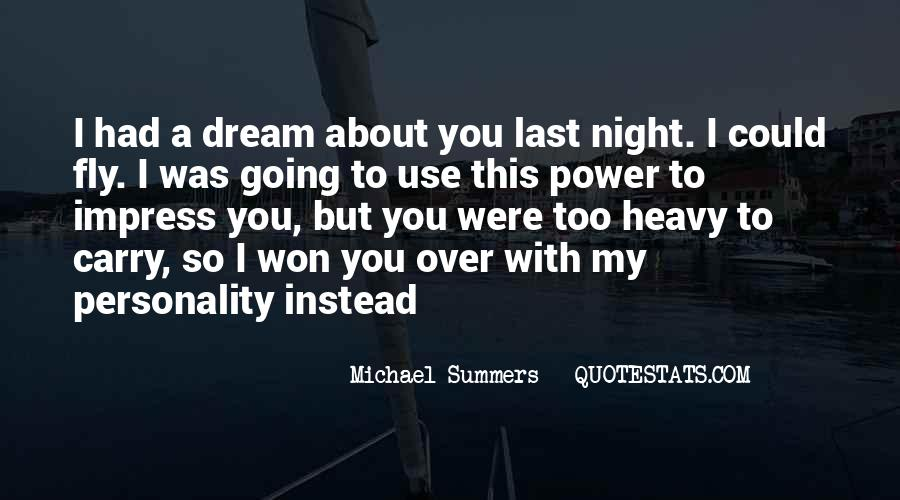 Quotes About Night Dreams #573469