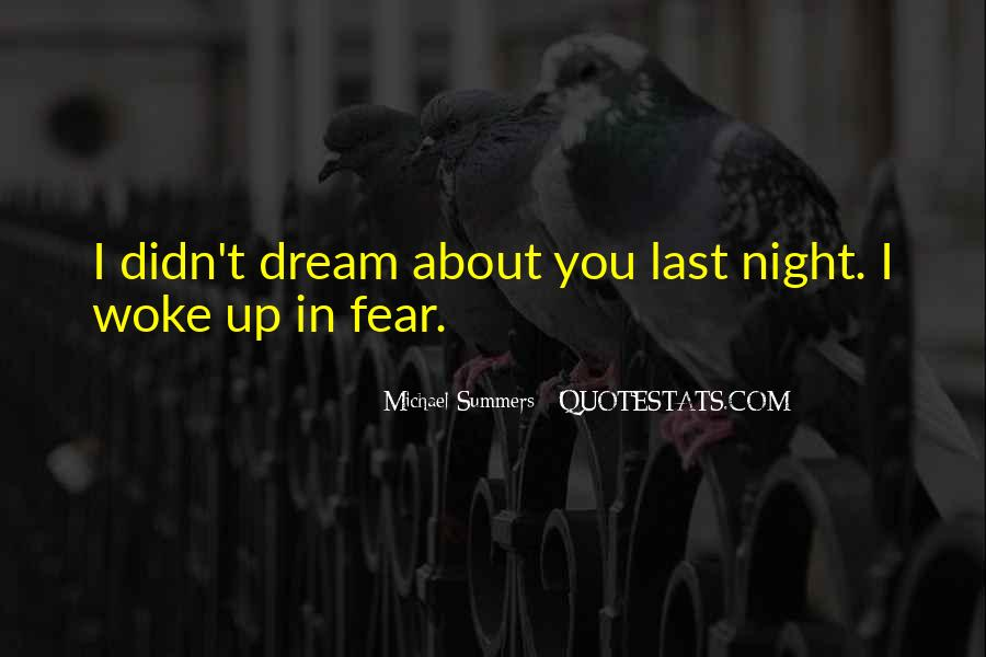 Quotes About Night Dreams #573794